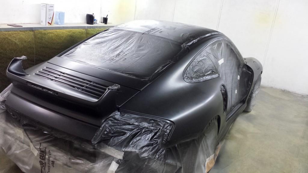 Car Sprayer Staffordshire Porsche Gt2 Respray